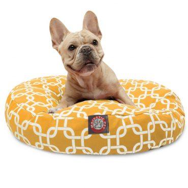 Remarkable Chevron Sherpa Bagel Dog Bed Majestic Pet Inzonedesignstudio Interior Chair Design Inzonedesignstudiocom