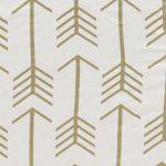 White / Gold Arrow